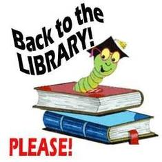 Library Books due MONDAY!!!